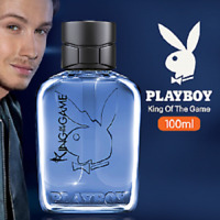 PLAYBOY KING OF THE GAME FOR MEN 100ML EAU DE TOILETTE SPRAY COOLING AFTER SHAVE