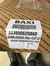 SCAMBIATORE PRIMARIO H2O GAS 24 Kw CLIP LUNA 3 ECO 3 CALDAIA BAXI JJJ000 620860