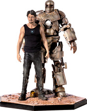 Marvel Iron Man Tony Stark & Mark 1 Iron Studios Sideshow 2019 Sdcc Exclusive