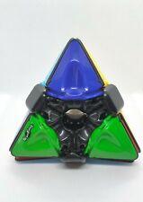 Hoberman  * BrainTwist *   Pyramid puzzle similar to Rubiks Cube.Preowned