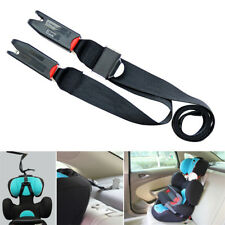 Isofix Latch Child Safety Seats Car Seat Strap Kit Install Fixed Belt Connector