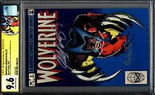 Wolverine 2 Limited Series CGC 9.6 SS 2X Claremont Rubinstein 1982 WHITE PAGES!