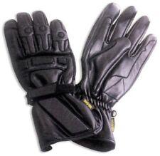 Sport Bikers Motorcycle Motorbike leather Gloves Protective Padding  Black XXL