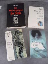 Lot de 4 publications érotiques Streef Mouzat Ours Roserbach Neuf Curiosa
