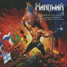 MANOWAR/warriors of the World - 10th Anniversary * NEW & SEALED CD * NOUVEAU *