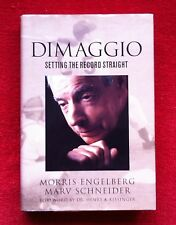 DIMAGGIO - SETTING THE RECORD STRAIGHT - Signed & Inscribed to LEE STERN Soccer