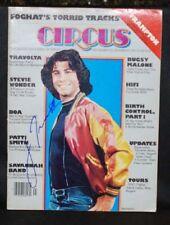 John Travolta Autographe Cirque Revue #145 1976