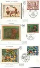 FDC - FRANCE 1899-1901 - RAMSES II - CARZOU - VLAMINCK