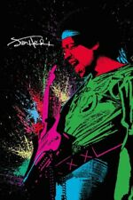 JIMI HENDRIX - SPRAY PAINT - ART POSTER 24x36 - MUSIC GUITAR 51830