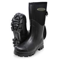 Dirt Boot Neoprene Wellington Muck Field Boots Adjustable Gusset Wellies