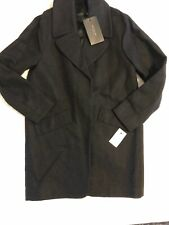 Women's Marc New York Wool Blend Coat, Grey, SIZE 6 NWT Fully Lined
