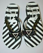 GUESS WEDGE FLIP FLOP SZ 9 NEW WITH TAG