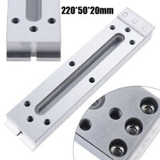 Slow Wire Cut Edm Fixture 220x50mm Board Stainless Jig Tool Fit Level Clamping