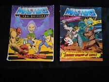 2 MOTU Mini Comics He-Man Masters of the Universe 1983 Vintage collectible