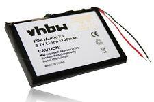 Batteria 1100mAh 3.7V Li-Ion per Cowon iAudio X5,X5L 20GB,X5v,M3,M5L,M5 20GB