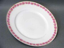 Paris Frank Haviland Limoges Speise Teller Pink Drop Rose Dining Plate