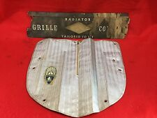 VINTAGE 1930s PLYMOUTH RADIATOR GRILL GRILLE COVER