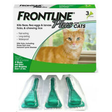 FRONTLINE PLUS for Cats / Kittens Flea & Tick Treatment Control,3 Doses