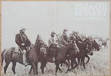 FOTOBUSTA 4, BREAKER MORANT, BRUCE BERESFORD AUSTRALIAN FILM, POSTER AFFICHE