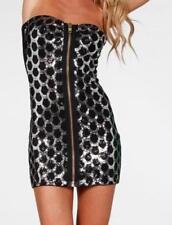Sequin Strapless Dresses for Women