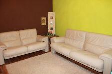2 hochwertige Sofas von Poltrona Frau, beige