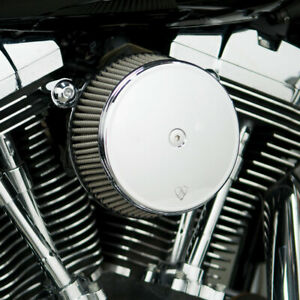 Arlen Ness Synthetic Filter Chrome Big Sucker Air Cleaner  2008-Up Harley TBW