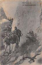 A616) 7 REGGIMENTO ALPINI, PATTUGLIA IN RICOGNIZIONE.