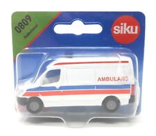 Siku Poland Edition #0809 Ambulance Ambulans Van white blister card Rare