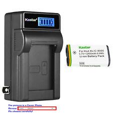 Kastar Battery LCD Wall Charger for Kodak KLIC-8000 Kodak Z712 IS Kodak Z812 IS