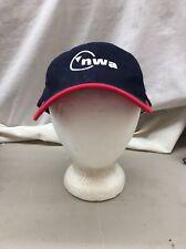 Trucker Hat Baseball Cap NWA Northwest Airlines Retro Vintage