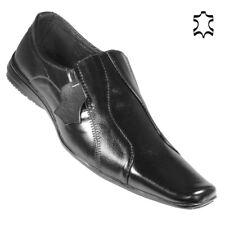 Leder Herren Anzug Schuhe Business Halbschuh Slipper Mokassins Scuo D17 Gr.40-45
