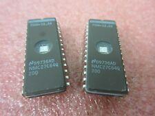 2 x NMC27C64Q200 Similar to M27C64A-20F1 CMOS UV ERASABLE 64K EPROM 8kx8 £3.75ea