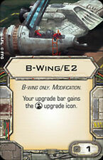 X-Wing Miniatures Game-Upgrade Card B-Wing/E2 Title Card