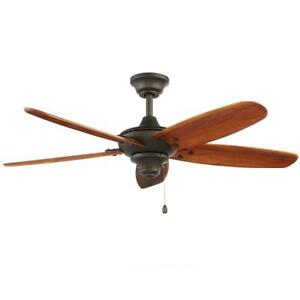 Home Decorators Altura 48 in. Indoor/Outdoor Oil-Rubbed Bronze Ceiling Fan