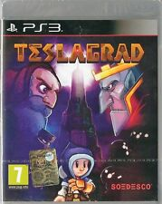 Teslagrad (sony PlayStation 3) EU Cover