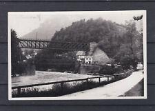 Weyer an der Enns mit Eisenbahnbrücke gelaufen 1938