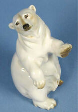 Eisbär Polarbär Hutschenreuther porzellanfigur Porzellan bär bear figur