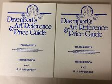 Davenport's Art Reference & Price Guide, 2 Volume Set, 1997/98 edition
