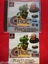 CROC LEGEND OF THE GOBBOS PLAYSTATION 1 CROC PS1 PSONE PS2 PS3