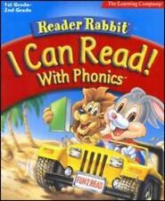 Reader Rabbit I Can Read With Phonics PC MAC CD kids learn words vowels game #22