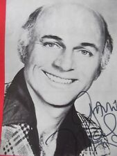 The Love Boat McHale's Navy GAVIN MacLEOD + 1 hand signed theatre programme