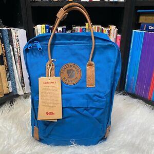 """Fjallraven Kanken No. 2 Lake Blue Backpack / Book Bag """"NWT"""""""