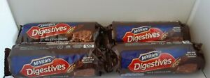 Job Lot McVities Digestives Milk Chocolate Biscuits 4 Packets NEW