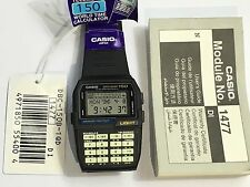 rare vintage casio DATABANK DBC150 DBC-150 calculator watch NOS NEW