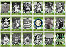 Glasgow Celtic European Cup winners 1967 football trading cards