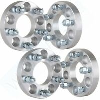 """4X 1"""" 5x4.5 to 5x4.5 5x114.3  Wheel Spacers For 1967-2014 2013 Ford Mustang"""