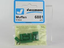 6881 VIESSMANN - HEMBRILLA VERDE 10U. / Sockets, green, 10 pieces