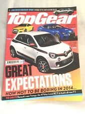 magazine automobile anglais TOP GEAR 2014