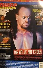 Power Wrestling 11/2009 WWE WWF TNA + 4 Poster (Batista, Undertaker)