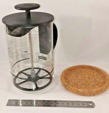 Bodum LATTEO Milk Frother for Cappucino, Latté Mocha 250ml 8oz Black lid handle